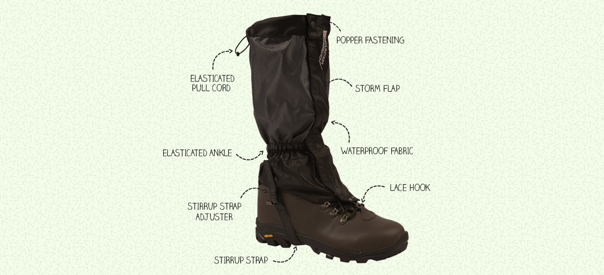 Walking Gaiters Guide | Guide to Gaiters