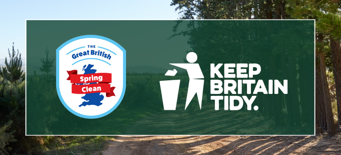 KEEP BRITAIN TIDY   The Great British Spring Clean 2018