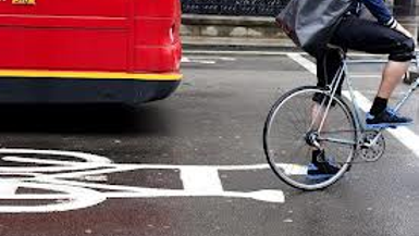 Cycling Injuries Trebled in London in Past Six Years