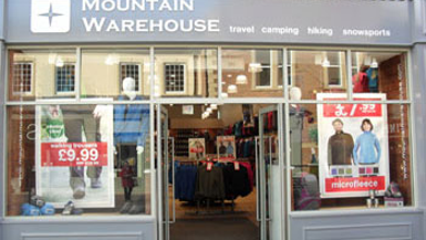 A First Birthday Treat for Mountain Warehouse shoppers in Morpeth