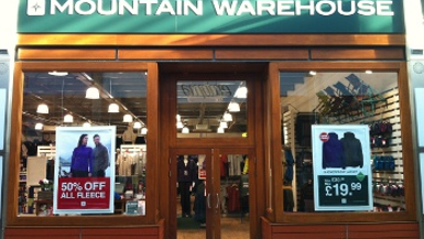 Mountain Warehouse Opens Bigger Store in Bideford