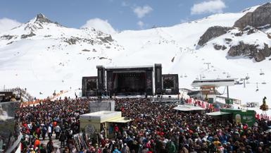 Mariah Carey Closes Ischgl Ski Season