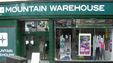 Mountain Warehouse Opens in Whitby
