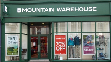 Mountain Warehouse Opens Store in Totnes