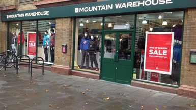 Mountain Warehouse Open Store in Fulham
