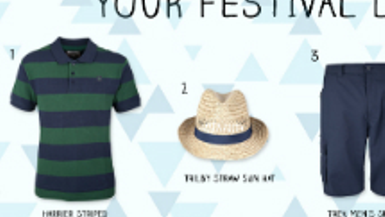 Your Festival Look (Men)