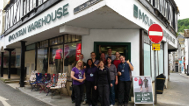 Mountain Warehouse opens brand new Looe store