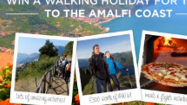 Win a Walking Holiday to the Amalfi Coast for Two