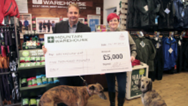 Charity Challenge: Public Vote Winner Tracey Ames in Leamington Spa