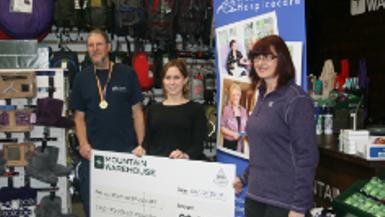 Charity Challenge: Kilimanjaro Winner Edwin Hicks in Cheddar
