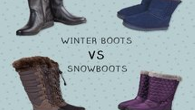 Snow Boots vs Winter Boots