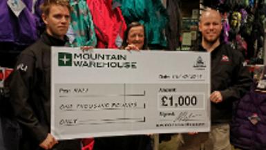 Charity Challenge: Three Peaks Challenge Winner Gavin Hughes in Durham