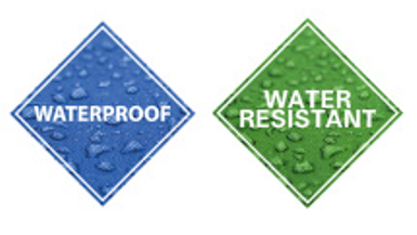 The Difference Between Waterproof & Water Resistant