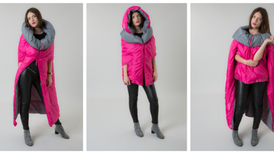 Get the Look – Sleeping bag coat