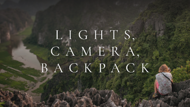 Lights Camera Backpack | The Winner