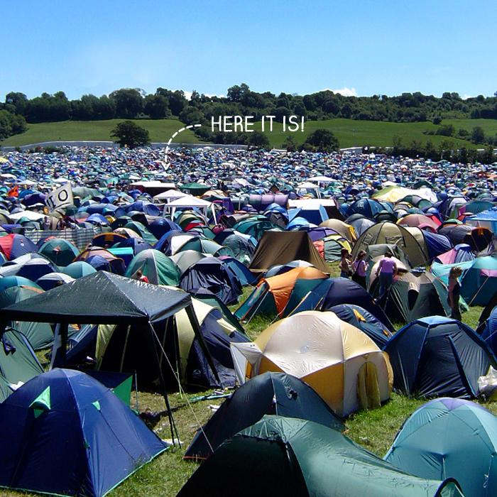 Mountain Warehouse Festival Tents