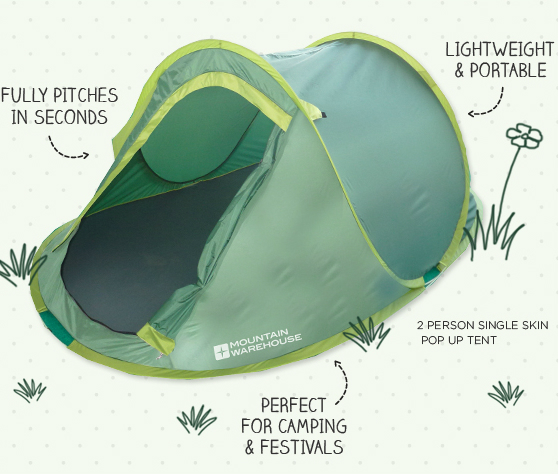 Mountain Warehouse Pop Up Tents