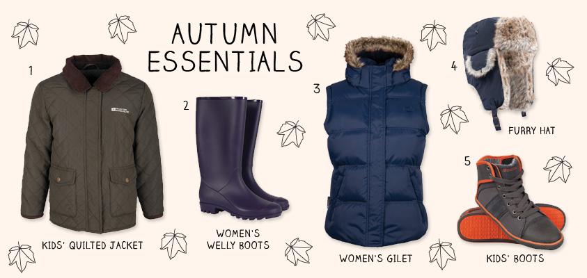 Mountain Warehouse Autumn Essentials
