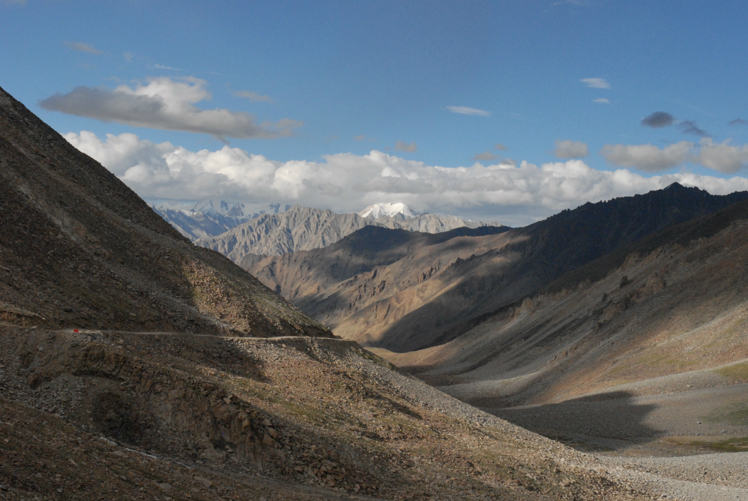 Stunning view of the Pamirs