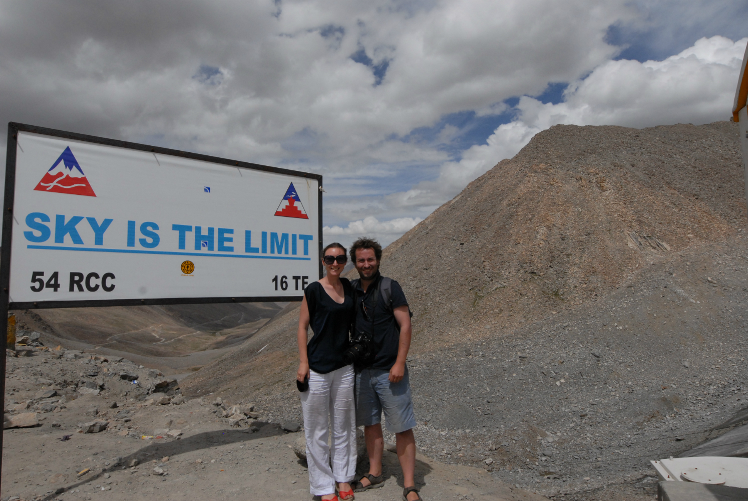 Sophie and Max in the Pamirs