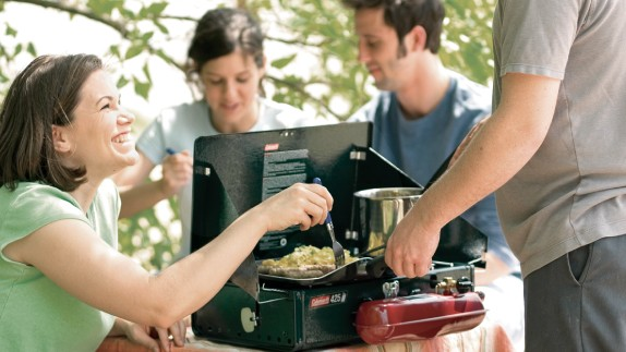Camping Stove Cooking