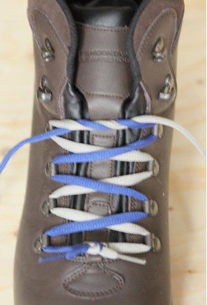 boots Heel lock lacing