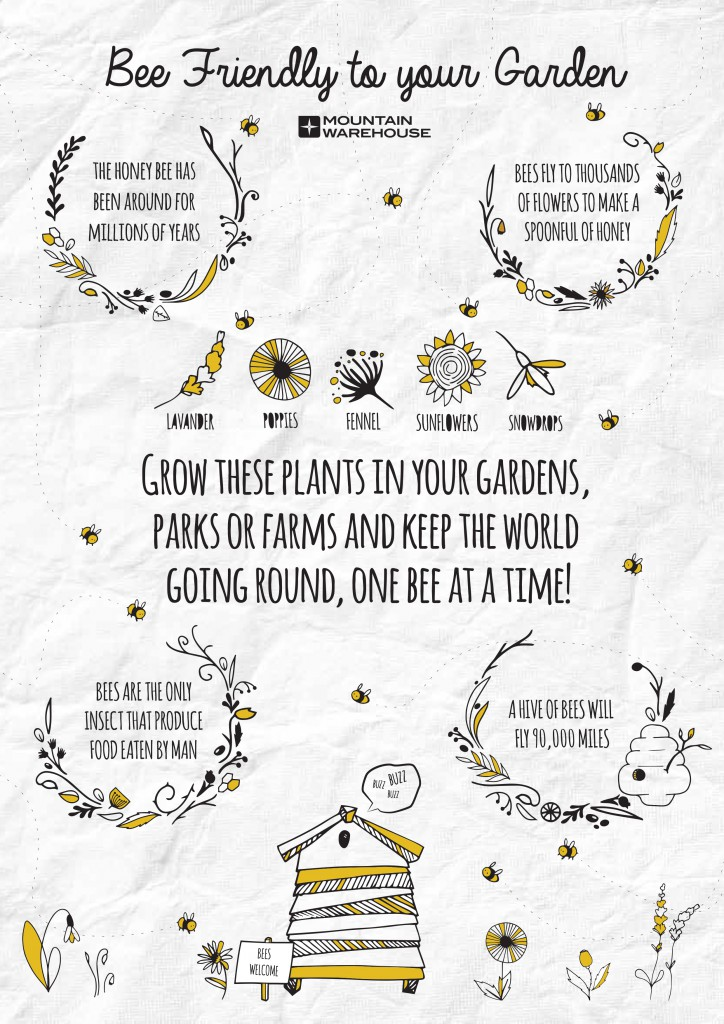 Bee Friendly To Your Garden