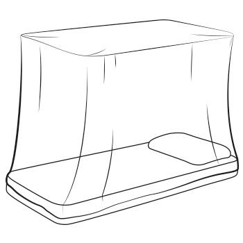 box-mosquito-net