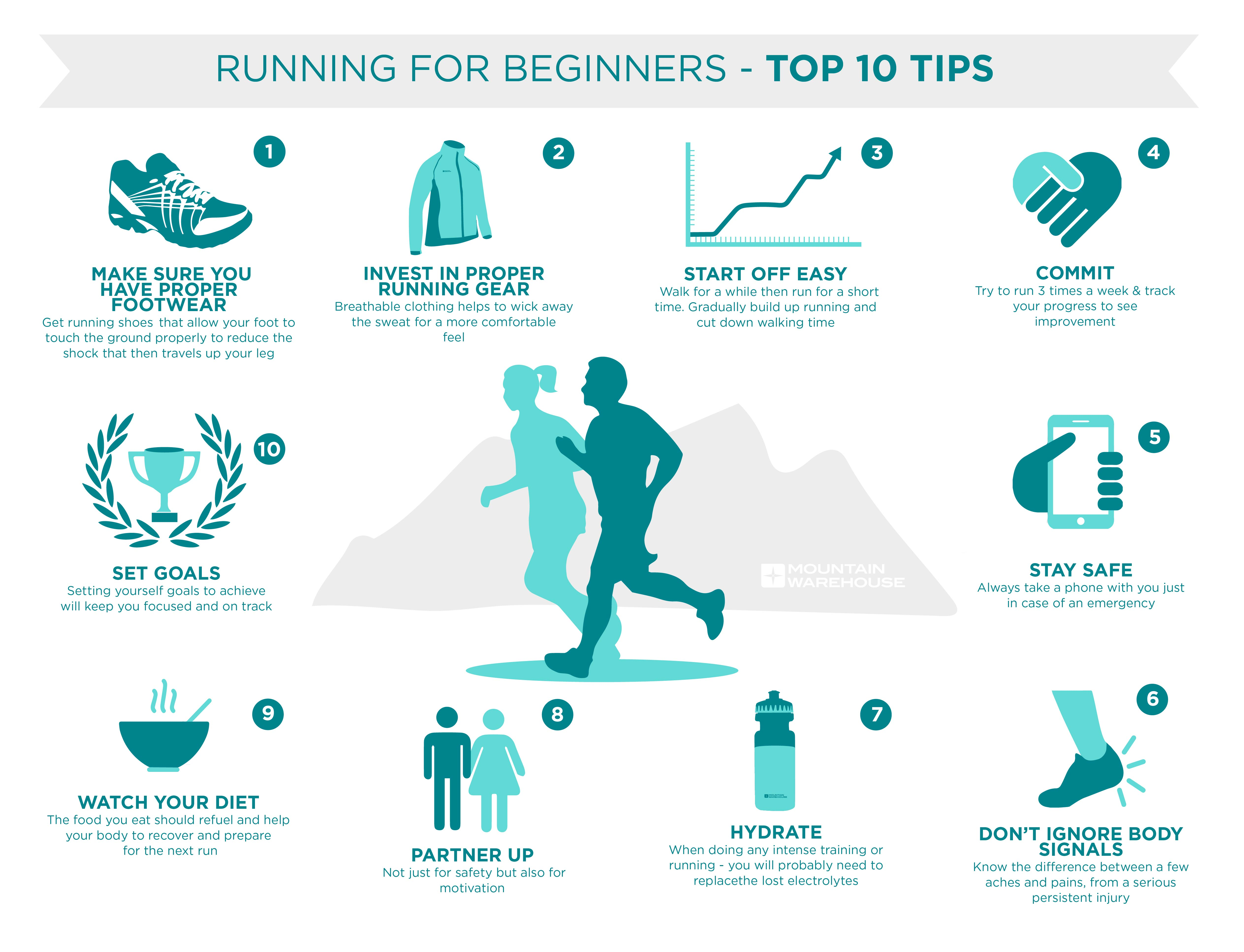 Running For Beginners Top 10 Tips Mountain Warehouse