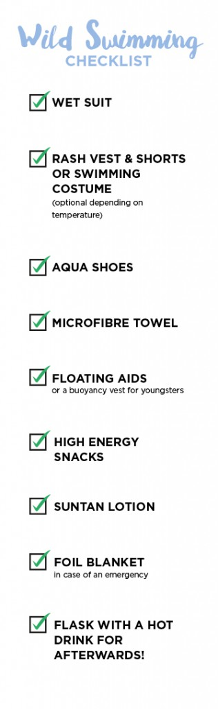 Wild Swimming Checklist