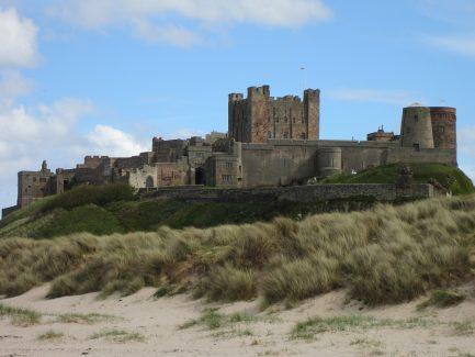 Bamburgh Castle: Top 25 UK Sandy Beaches