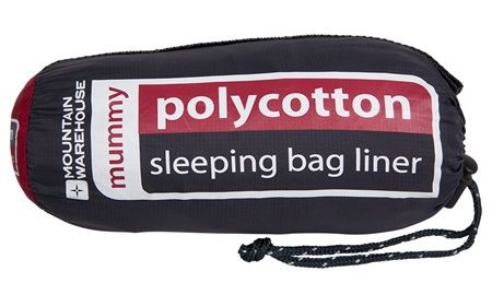 Sleeping Bag Liner: Polycotton