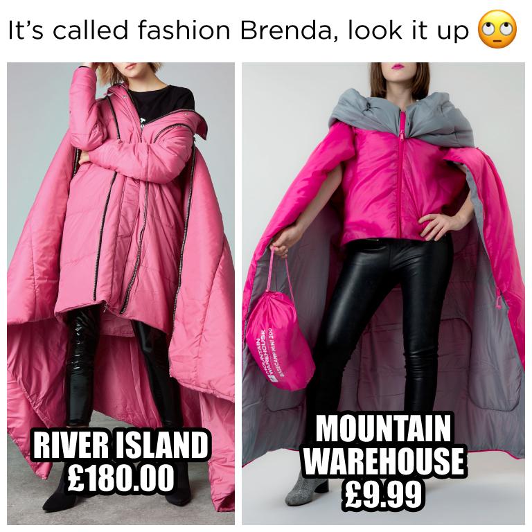 sleeping bag coat, meme, get the look