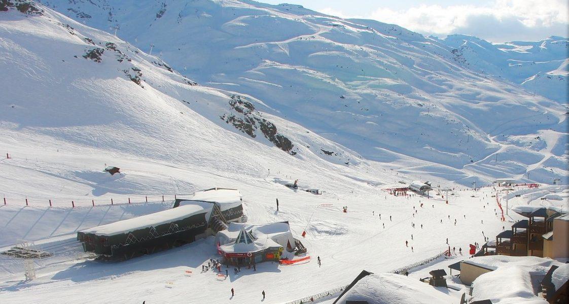 Val Thorens: Skiing in December